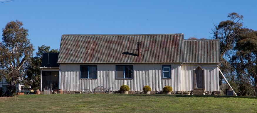 Abercrombie Road, Porters Retreat Church - Former