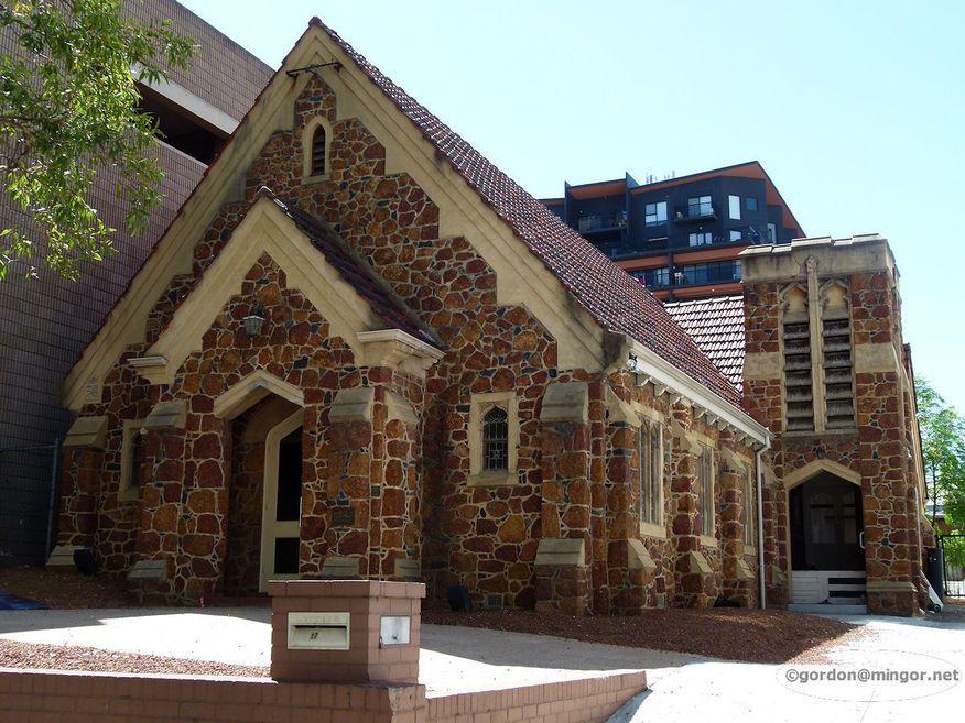Adelaide Terrace, Baptist Church - Former