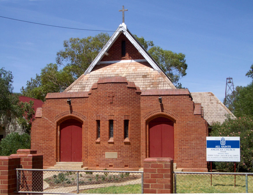 All Saints' Anglican Church - Former