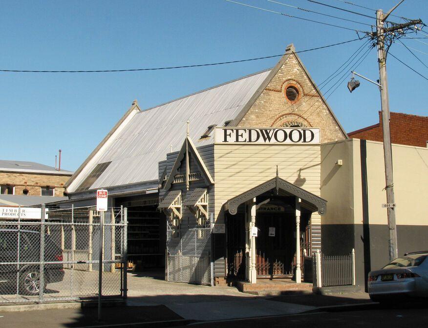 Balmain Road, Lilyfield Church - Former