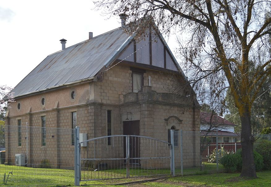 Bealiba Methodist Church - Former