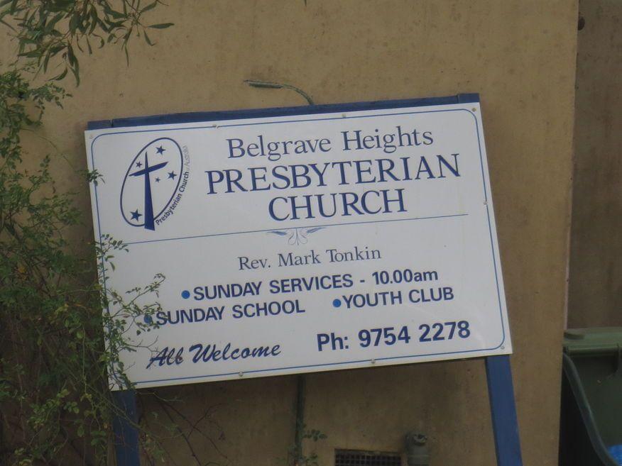 Belgrave Heights Presbyterian Church