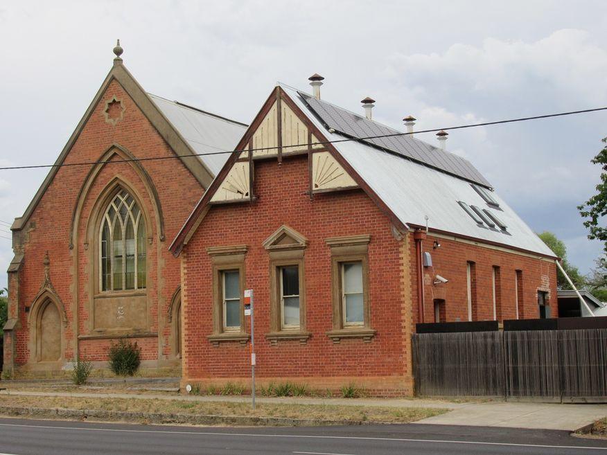 Castlemaine Bible Christian Church - Former
