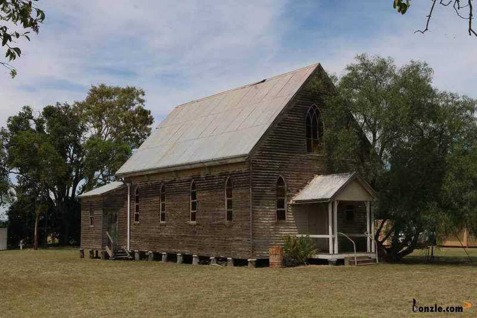 Catholic Church Back Plains - Former