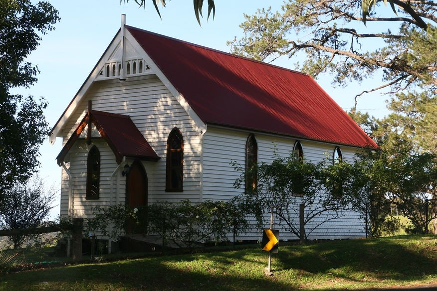 Central Tilba Ubiting Church - Former