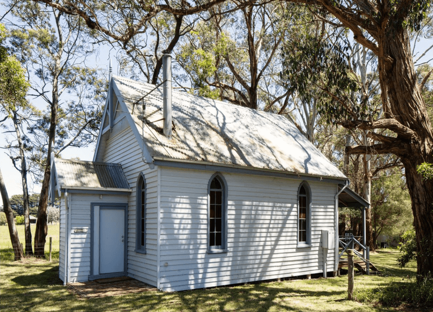 Colac-Forrest Road, Gerangamete Church - Former