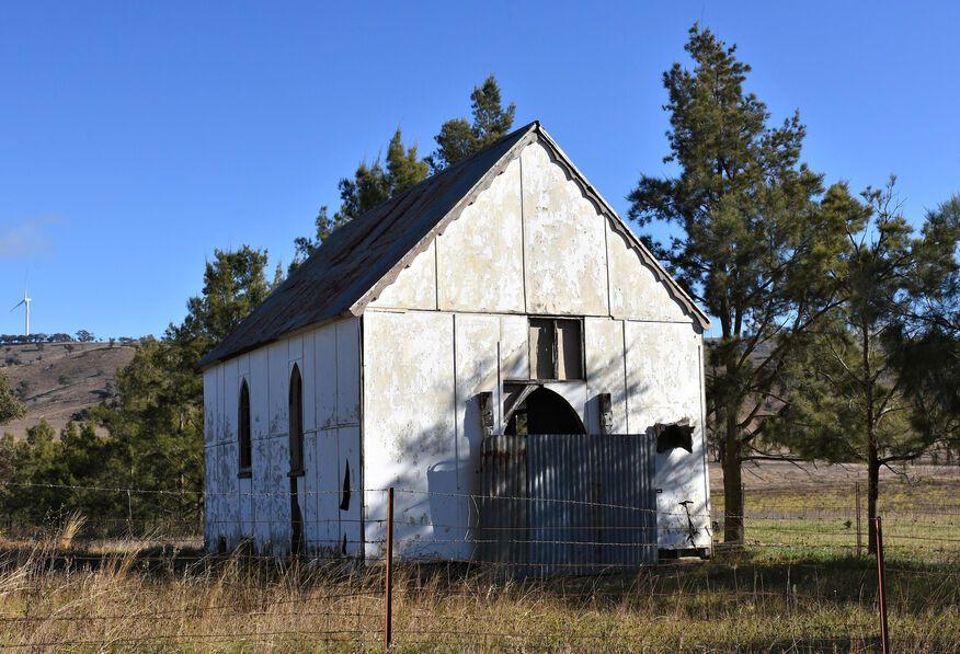Crudine Road, Crudine Church - Former