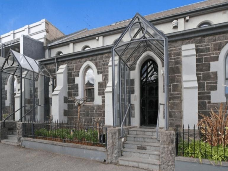 Drummond Street, Carlton Church - Former