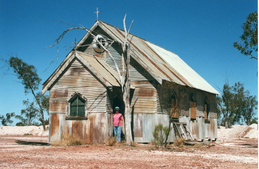 Film Set - 'Lightening Ridge Church'