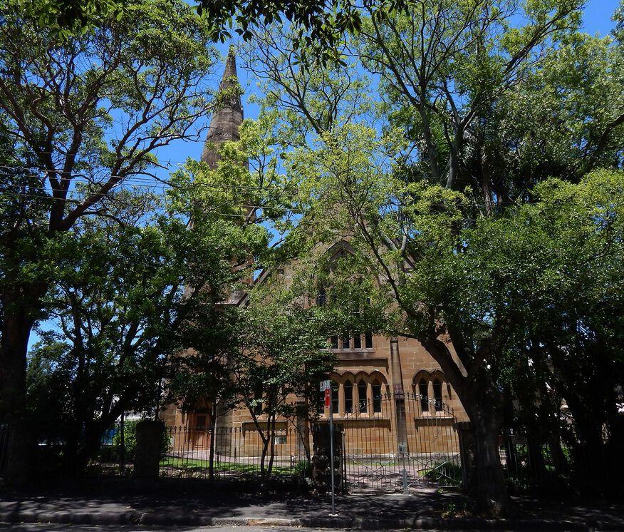 Glebe Presbyterian church - Former
