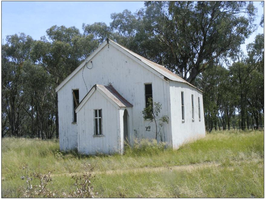 Gum Flat Methodist Church - Former