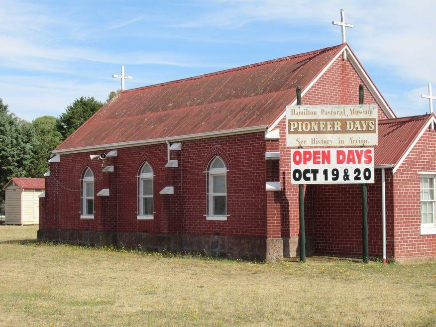 Hamilton Highway, Hamilton Church - Former