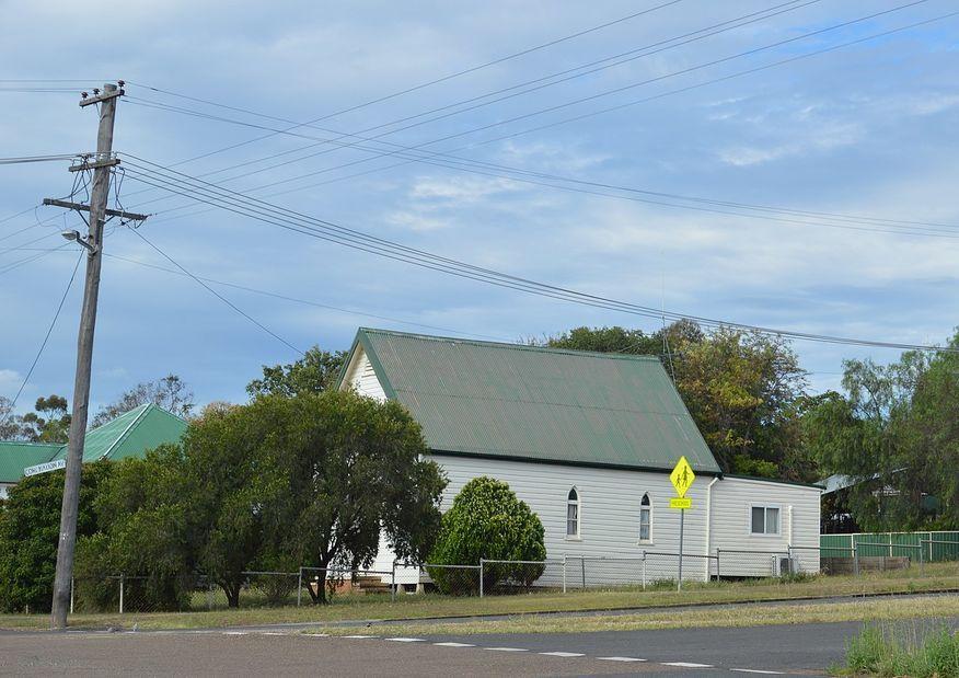 Henry Street, Werris Creek Church - Former