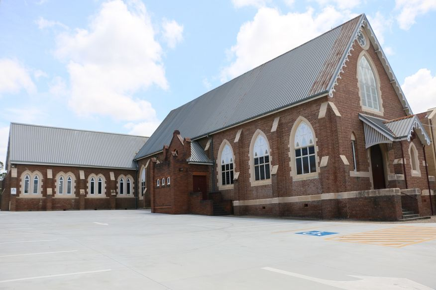 Holy Cross Catholic Church - Former - Now Hall