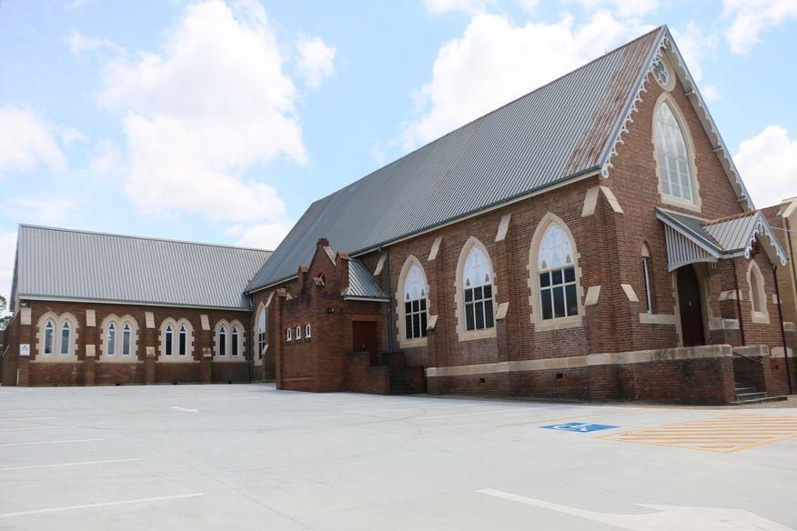 Holy Cross Catholic Church - Former - Now Hall