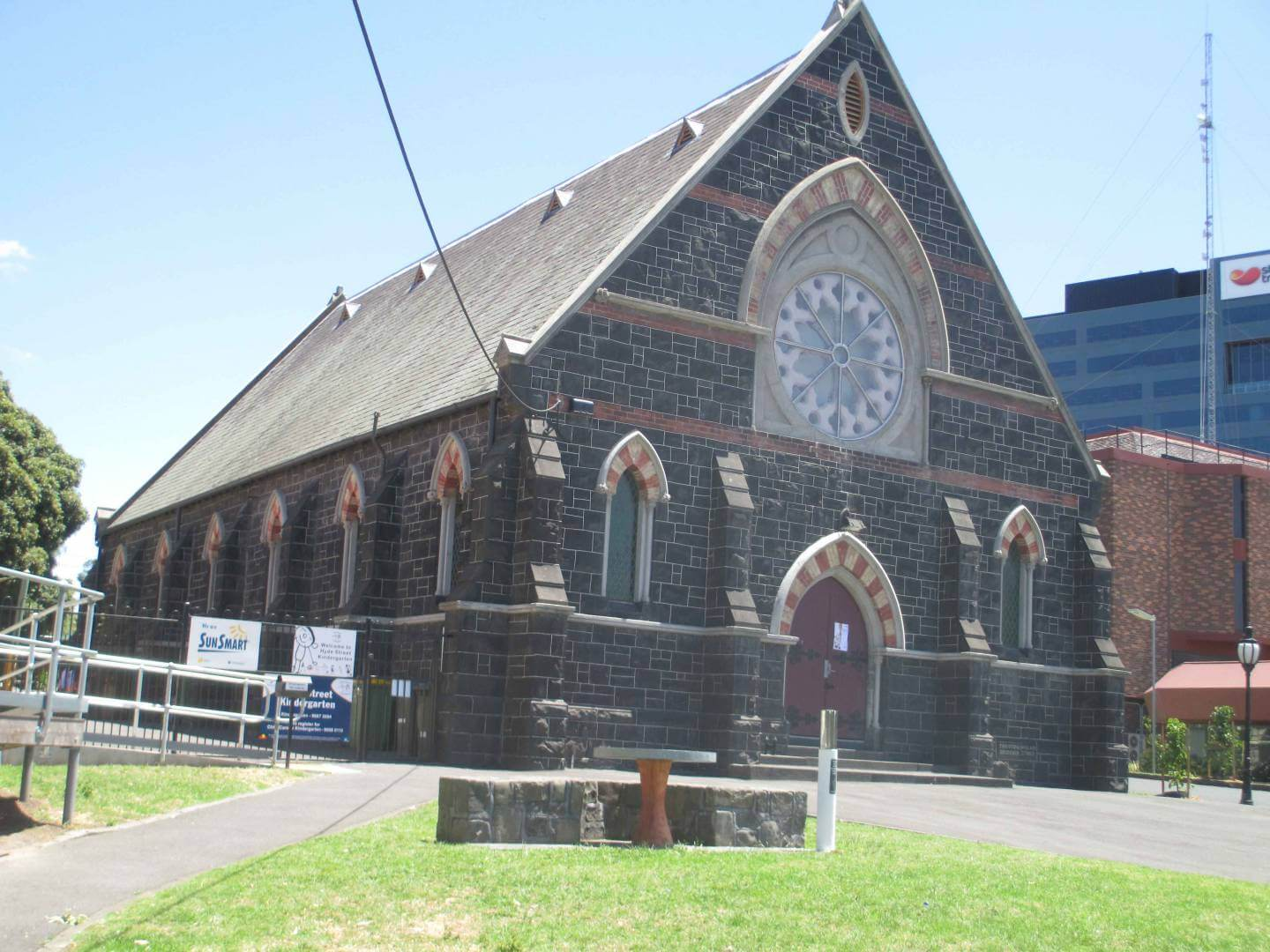 Hyde Strret, Footscray Church - Former