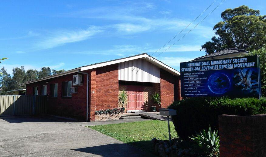 International Missionary Society Seventh-Day Adventist Reform Church