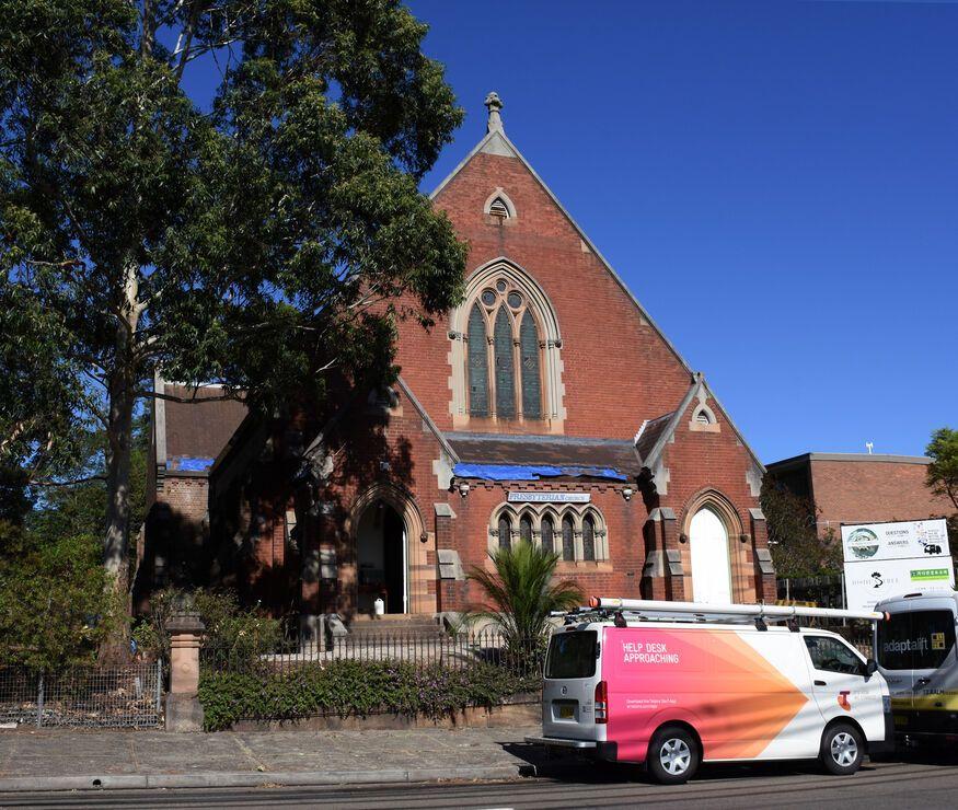 Korean Canaan Presbyterian Church & The Joshua Tree - Petersham Presbyterian