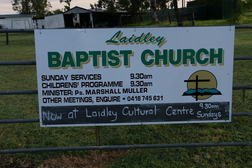 Laidley Baptist Church - New Site