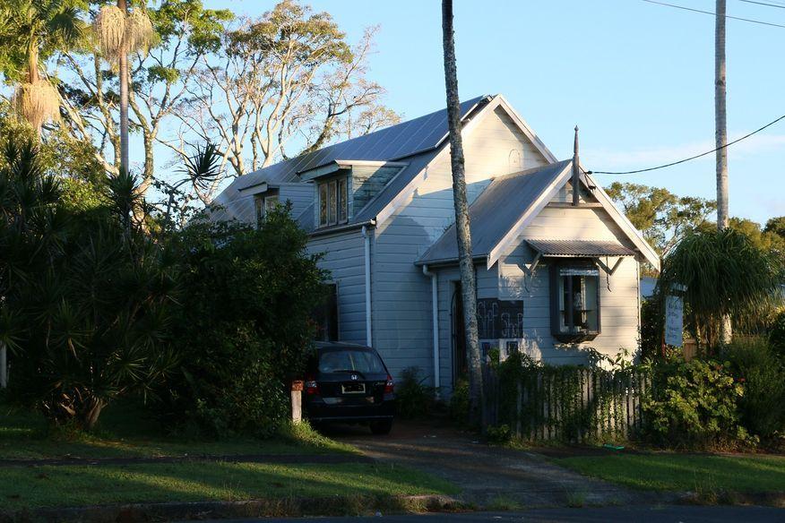 Lismore Street, Bangalow Church - Former