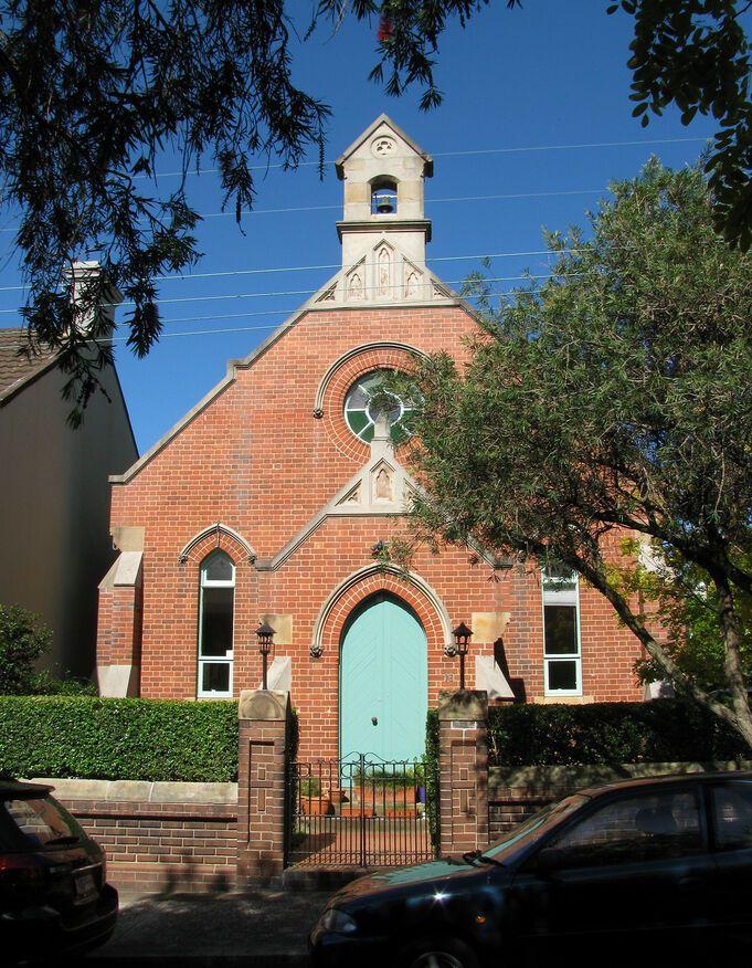 Mill Hill Road, Bondi Junction Church - Former
