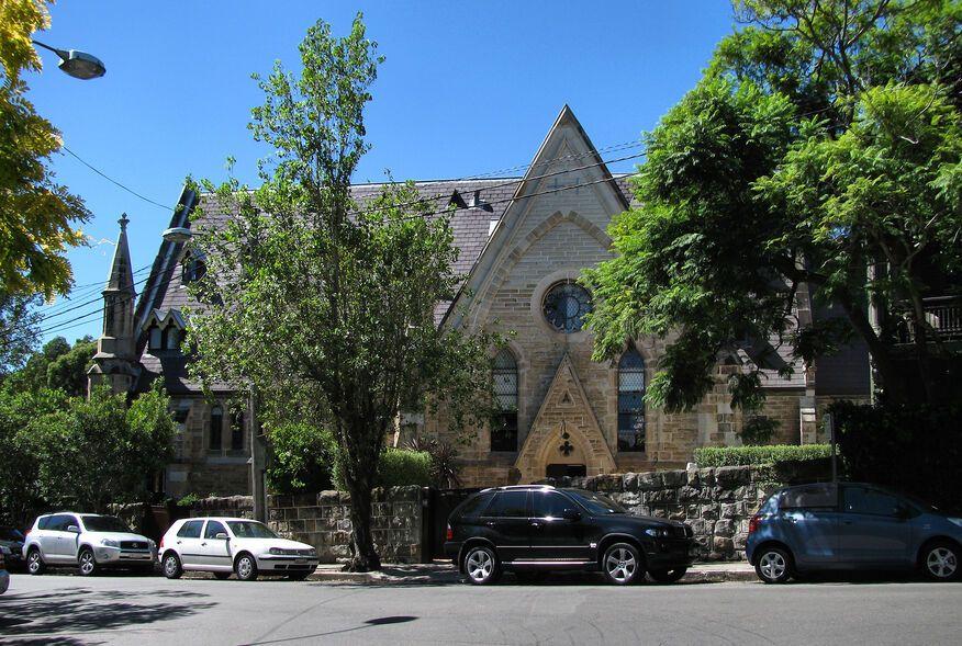 Moncur Street Uniting Church - Former