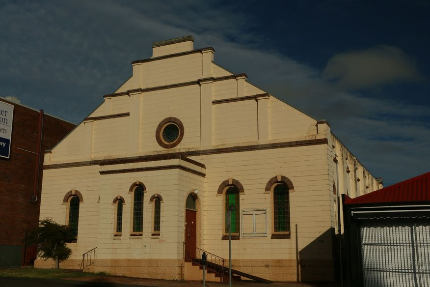 Neil Street, Toowoomba Church - Former