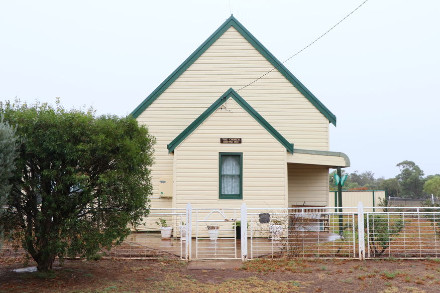Newell Highway, Alectown Church - Former