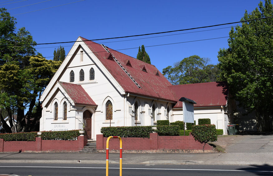 Old Northern Road, Dural Church - Former