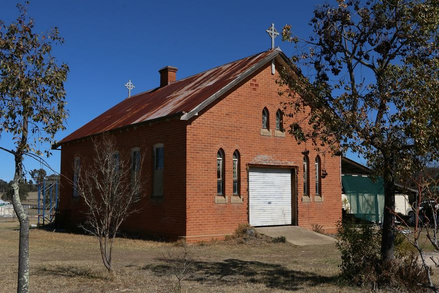 Oliver Street, Bundarra Church - Former