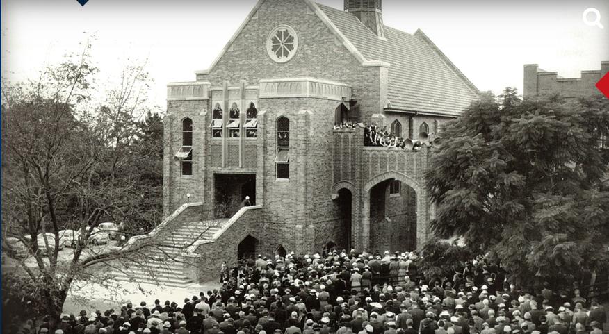 PLC Pymble War Memorial Chapel - Opening