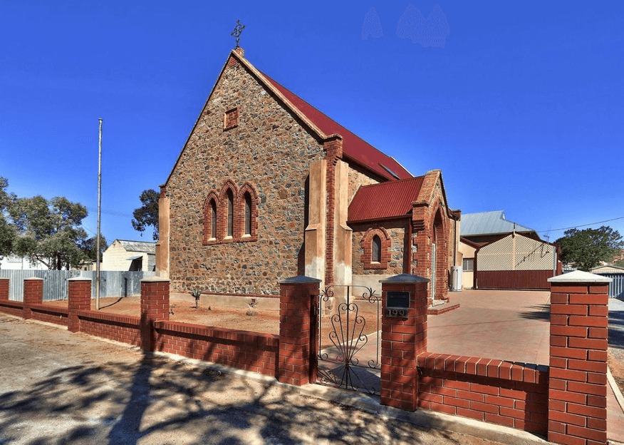 Rowe Street, Broken Hill Church - Former