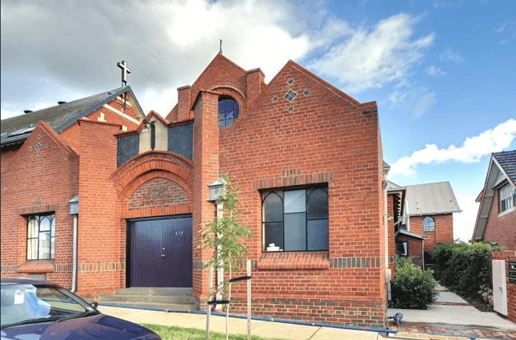 Roxburgh Street, Ascot Vale Church - Former