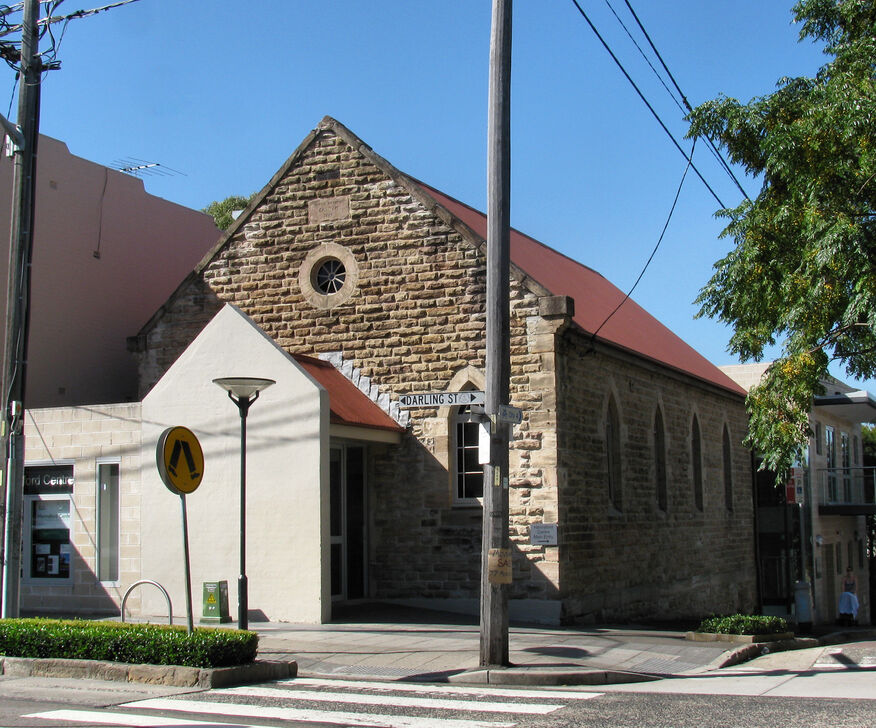 Rozelle Methodist Church - Former