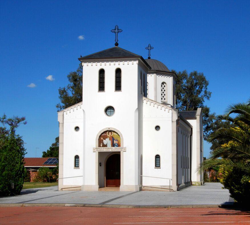 Serbian Orthodox Church St Stefan