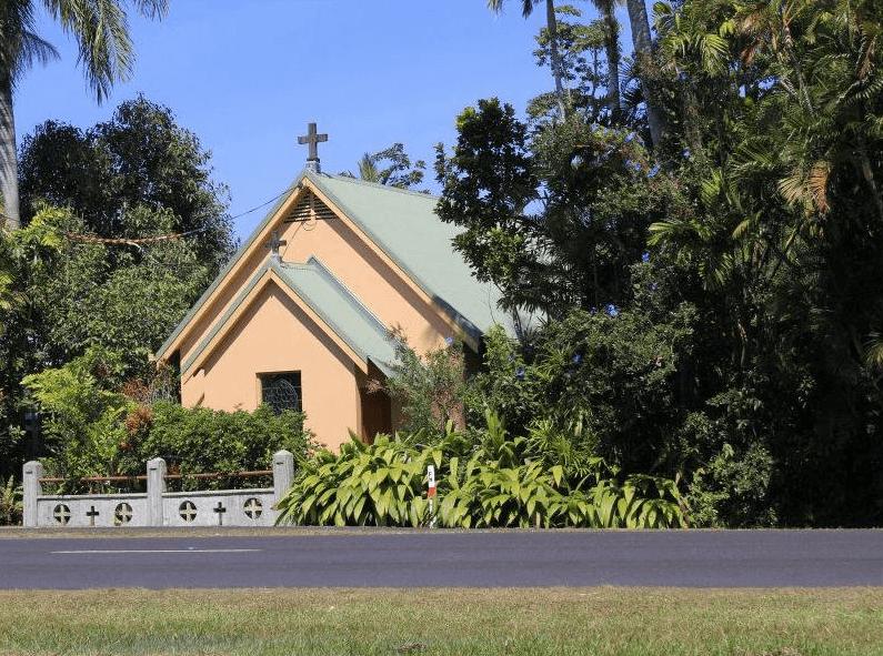 Silkwood Japoon Rd, Silkwood Church - Former