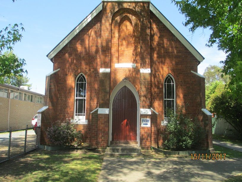 Smith Street, Myrtleford Church - Former