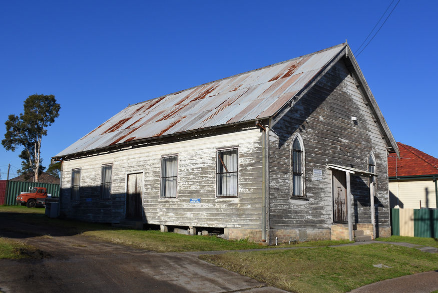 St Aiden's Anglican Church - Former