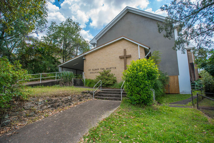 St Alban The Martyr Anglican Church - Former