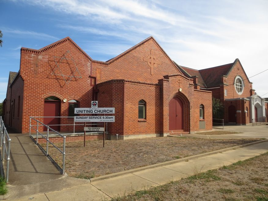 St Andrew's Uniting Church - Hall Foreground