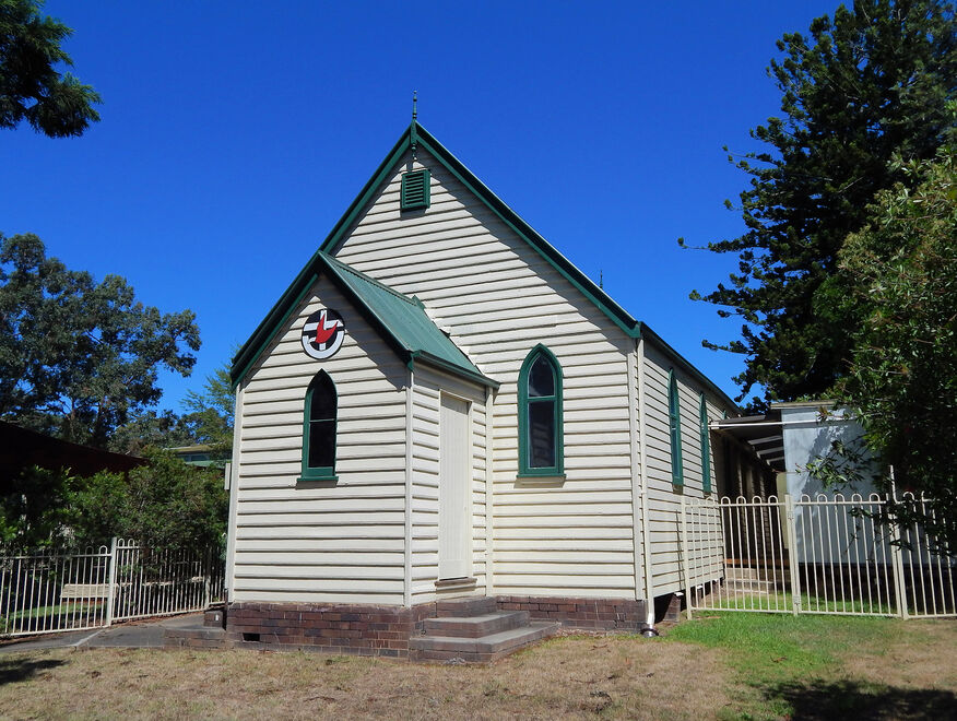 St Andrew's Uniting Church - Original Building