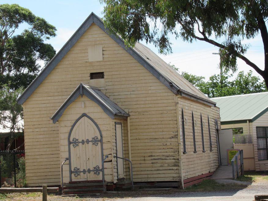 St Andrew's Uniting Church - Original Weatherboard Presbyterian Church