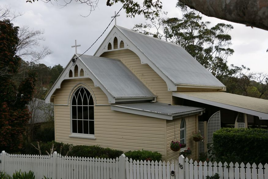 St George's Anglican Church - Former