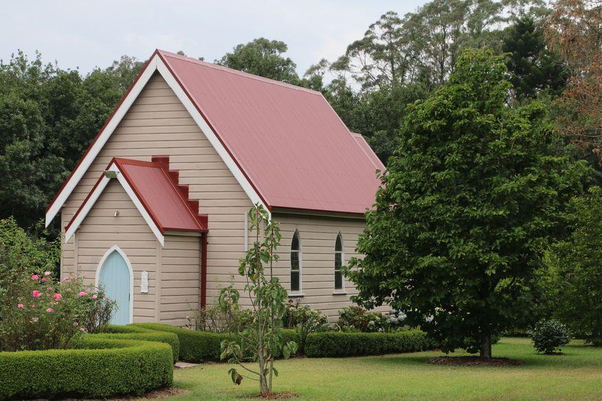 St John the Evangelist Anglican Church - Former