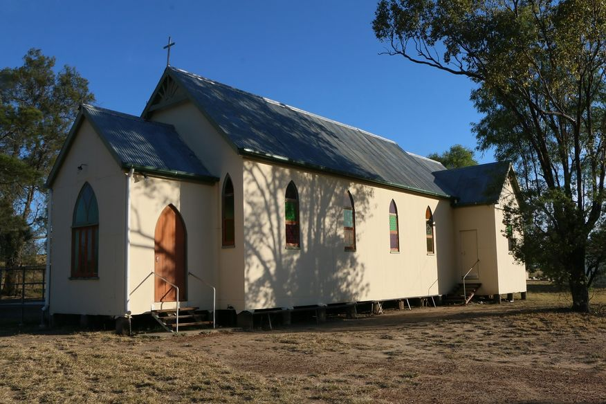 St John's Lutheran Church, Downfall Creek