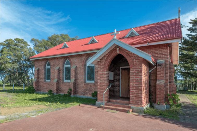 St Martin's Anglican Church - Former