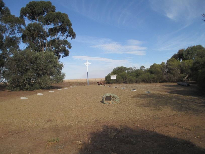St Oswald's Anglican Church Site - Boomahnoomoonah