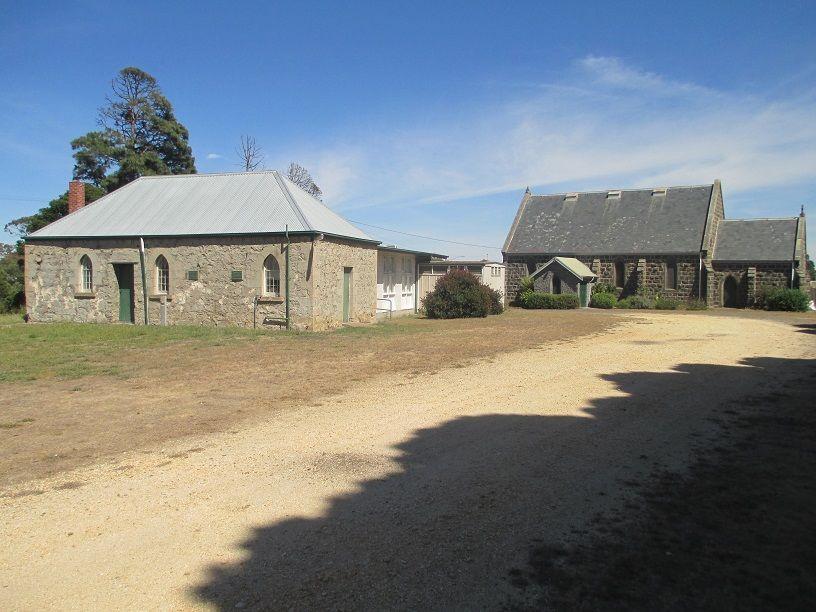 St Thomas' Community Church - Original Church/School in Forefront