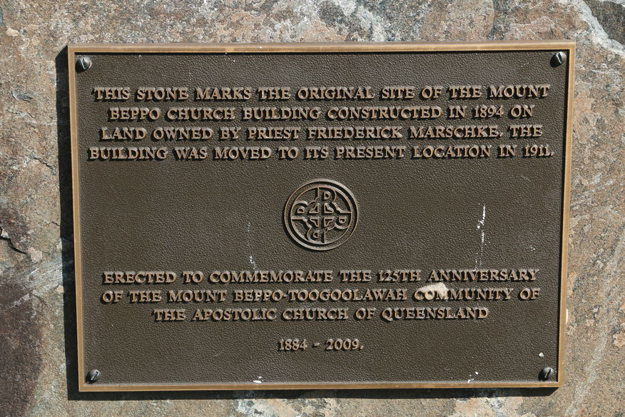 The Apostolic Church of Queensland - Mount Beppo - Former