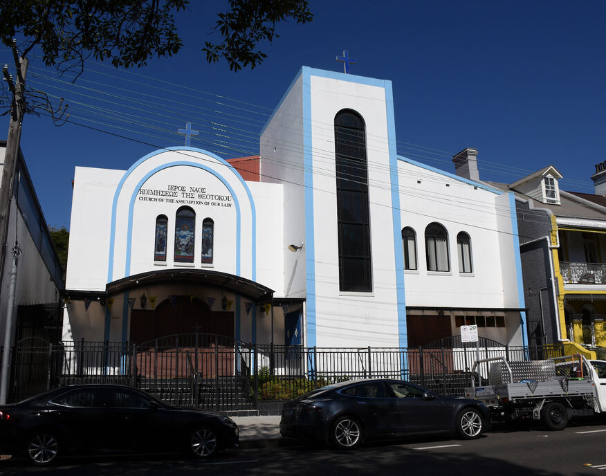 The Dormition Of Our Lady Greek Orthodox Church